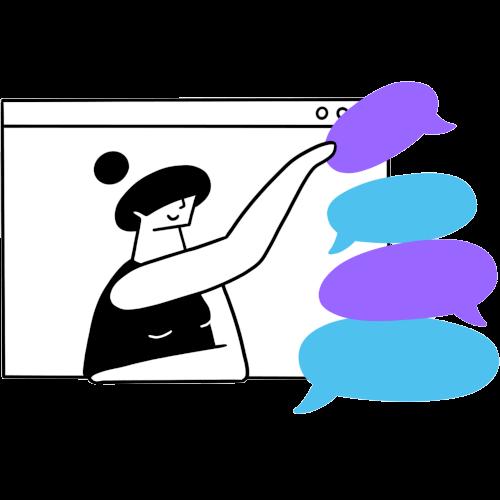 Easy to use visual editor image
